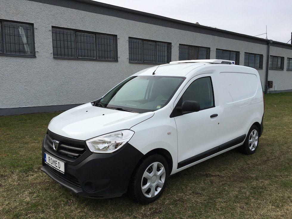 Pojazdy dostawcze chłodnie lub mroźnie L1H1 typu Peugeot Partner lub Dacia Dokker